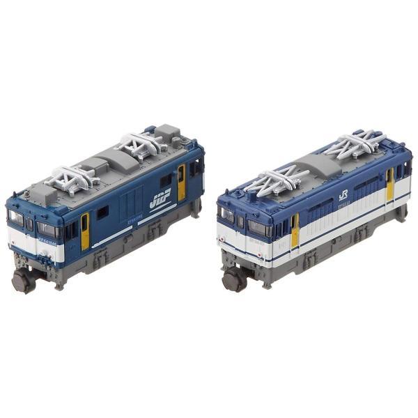Bトレインショーティー EF64形電気機関車0番台・1000番台貨物更新色 (機関車2両入り) プラモデル|takes-shop|05