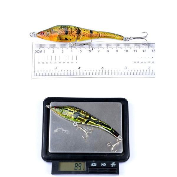 Juemenzhe ルアー 釣具セット ジョイント ハードルアー 6個 9.5cm 9g ペンシル ビッグベイト 多種類 爆釣り フィッシン