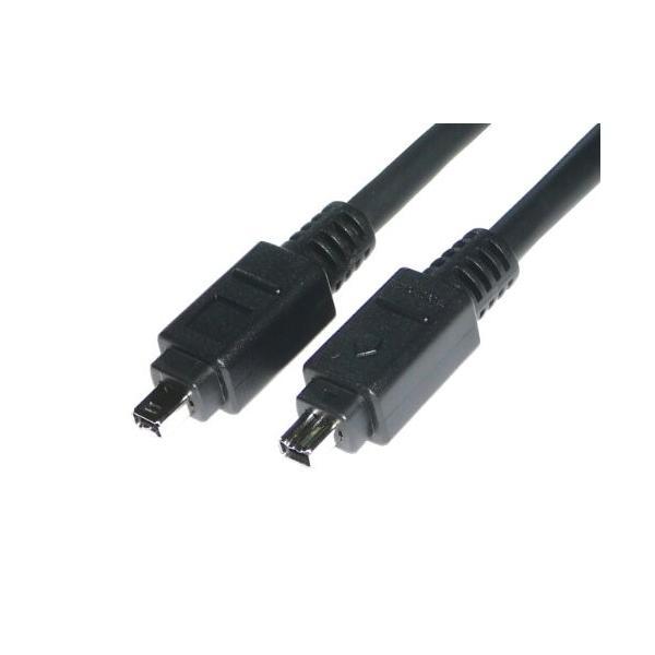 ATS direct IEEE1394ケーブル 4P/4P 1.5m iLINK DV端子 FireWire 400 A0097|takes-shop