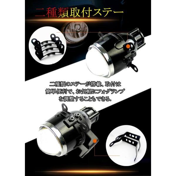 新品 健勝 プロジェクター レンズ H8/H9/H11適用 12V/24V フォグランプ (3.0インチ)