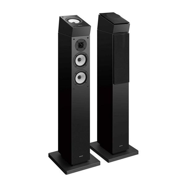 ONKYO D-309H Dolby Atmosイネーブルドスピーカー (2台1組) ブラック D-309H(B) 国内正規品