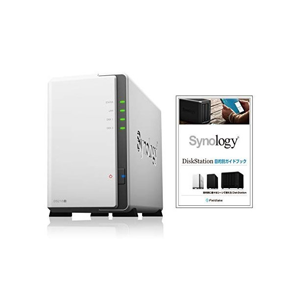 NASキット+ガイドブック付Synology DiskStation DS218j/JP 2ベイ / デュアルコアCPU搭載 / 512MB|takes-shop|08