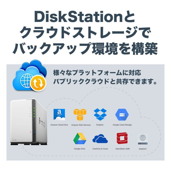 NASキット+ガイドブック付Synology DiskStation DS218j/JP 2ベイ / デュアルコアCPU搭載 / 512MB|takes-shop|09