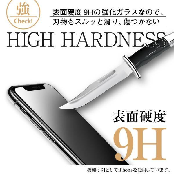 iPhone XR ガラスフィルム ブルーライトカット 簡単装着ガイド付き 日本製素材 硬度9H 指紋防止 気泡防止 自動吸着 ラウンドエッ|takes-shop