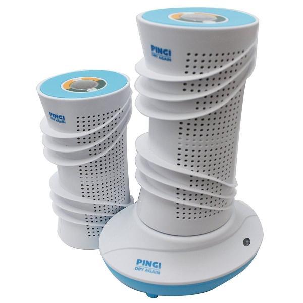 PINGI(ピンギー) 除湿器 吸湿器 ドライアゲイン マスターキット (キャニスター×2個、再生ドライヤー、ブラシ)