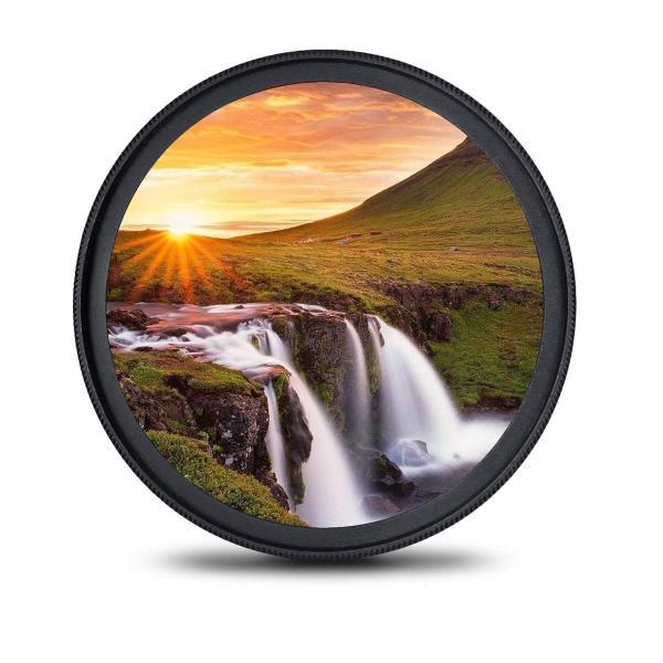 77mm レンズフィルター MC UV フィルター-ウルトラスリム16層多層加工 薄枠 紫外線保護 99%透過率 Canon Nikon S|takes-shop
