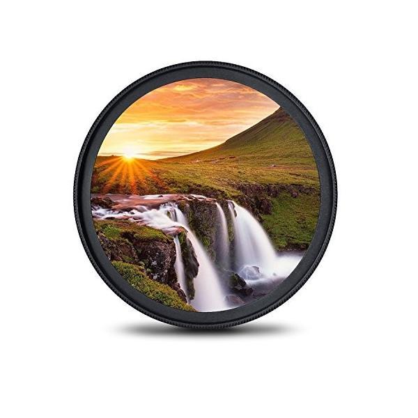 77mm レンズフィルター MC UV フィルター-ウルトラスリム16層多層加工 薄枠 紫外線保護 99%透過率 Canon Nikon S|takes-shop|05