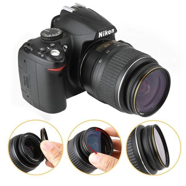 77mm レンズフィルター MC UV フィルター-ウルトラスリム16層多層加工 薄枠 紫外線保護 99%透過率 Canon Nikon S|takes-shop|06