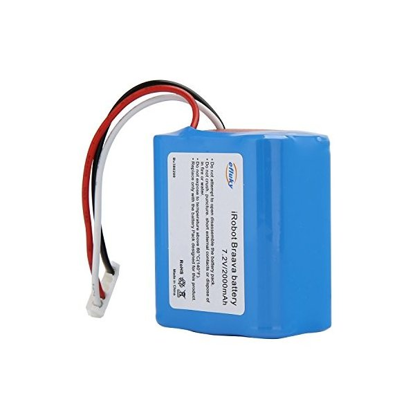 efluky 2000mAh ブラーバ 380J バッテリー 充電池 for Irobot Braava 371J/380T/Mint Pl|takes-shop|02