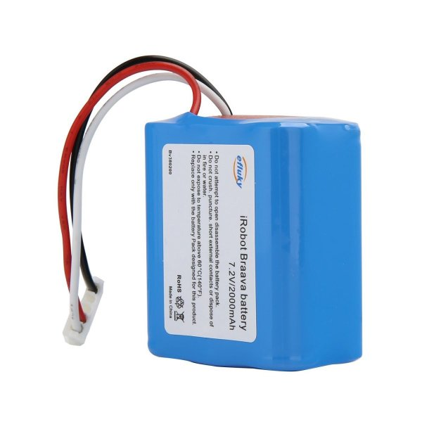 efluky 2000mAh ブラーバ 380J バッテリー 充電池 for Irobot Braava 371J/380T/Mint Pl|takes-shop|04