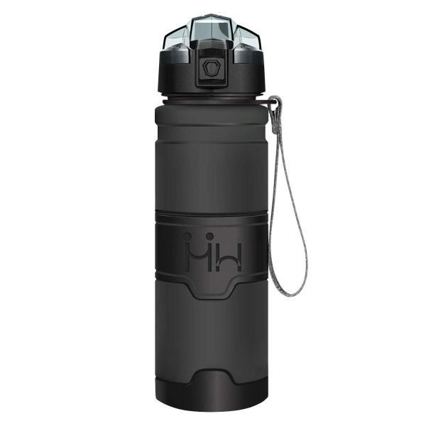 HoneyHolly ボトル 水筒 スポーツウォーターボトル - 400ml-1リットル、BPAフリー 直飲み 漏れ防止 プラスチック水筒|takes-shop|02