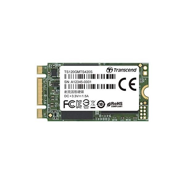 Transcend 3D TLC NAND採用 SSD 120GB M.2 2242 SATA-III 6Gb/s TS120GMTS420|takes-shop|06