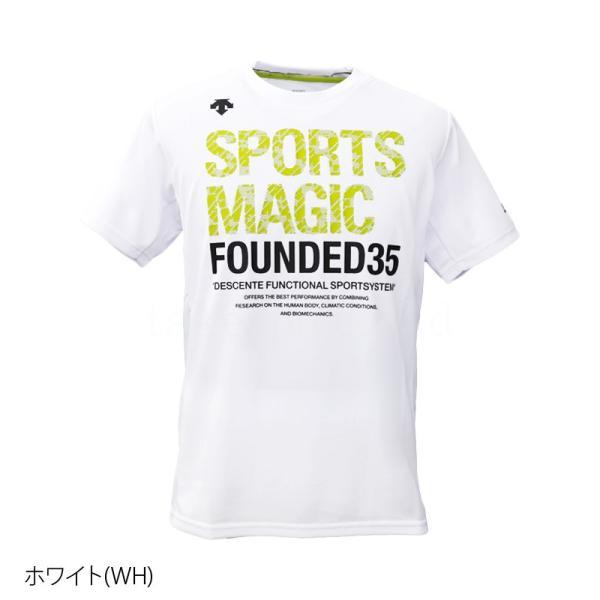 デサント Tシャツ メンズ 上 DESCENTE バレーボール 春 夏 S M L XL XXL ビッグロゴ ドライ 半袖 SPORTS MAGIC スポーツマジック アウトレット 半額|takespo|07