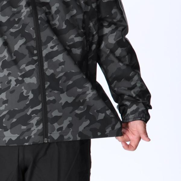 アディダス ウインドブレーカー メンズ 上下 adidas 迷彩 カモ柄 フード付き・裏メッシュ トレーニングウエア 送料無料 新作 takespo 10