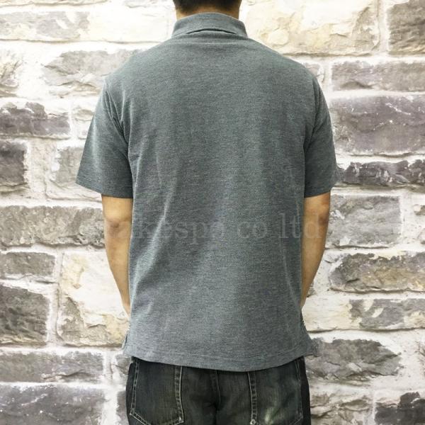 カンタベリー ポロシャツ メンズ 上 CANTERBURY ラグビー ドライ 吸汗速乾 UVカット ボタンダウン 半袖 新作|takespo|08