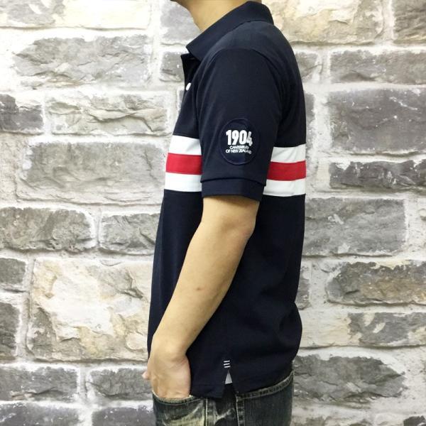 カンタベリー ポロシャツ メンズ 上 CANTERBURY ラガーシャツ ラグビー ドライ UVカット 速乾 半袖 新作 takespo 07