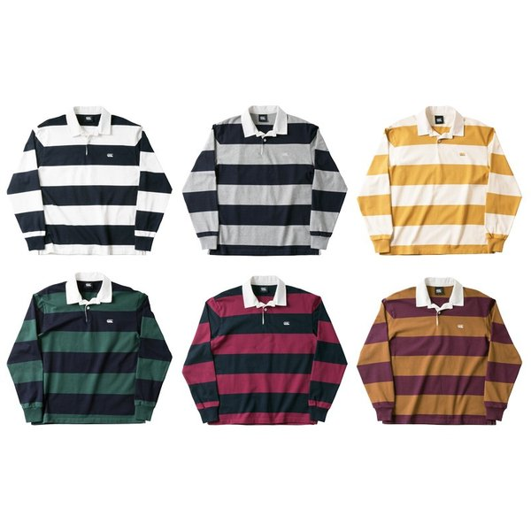 カンタベリー ラガーシャツ メンズ 上 CANTERBURY ラグビージャージ ボーダー アウトレット 半額|takespo|02