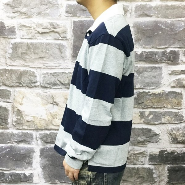 カンタベリー ラガーシャツ メンズ 上 CANTERBURY ラグビージャージ ボーダー アウトレット 半額|takespo|10