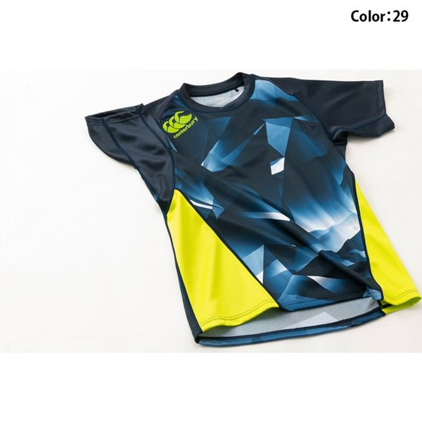 カンタベリー Tシャツ メンズ 上 CANTERBURY 耐久性 ゲームジャージ 半袖 新作|takespo|14