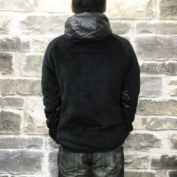 カンタベリー ジャケット メンズ CANTERBURY ボアジャケット 防風 保温 フード付き・裏ボア R+ ラグビープラス 送料無料 あすつく アウトレット 半額|takespo|05