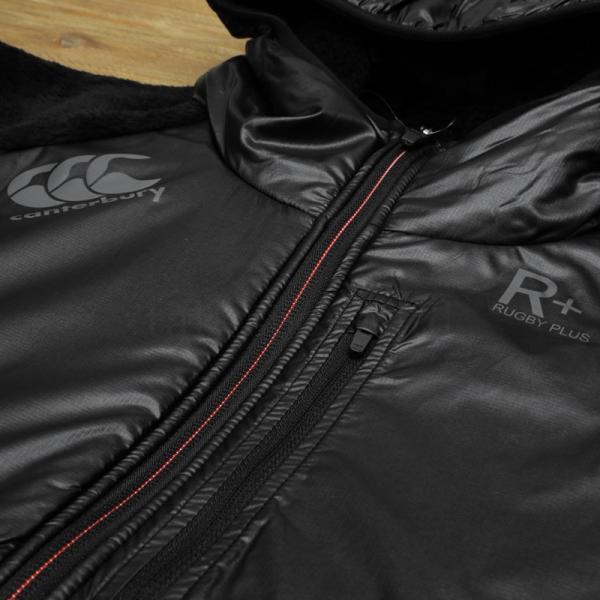 カンタベリー ジャケット メンズ CANTERBURY ボアジャケット 防風 保温 フード付き・裏ボア R+ ラグビープラス 送料無料 あすつく アウトレット 半額|takespo|08