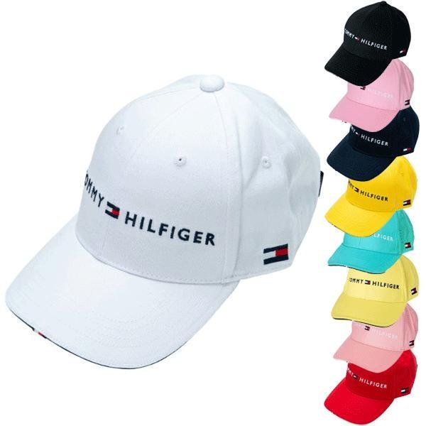 242f58caed0cd プレミアム会員様限定クーポン進呈中 トミーヒルフィガー ゴルフ ロゴ キャップ THMB90EF TOMMY HILFIGER GOLF