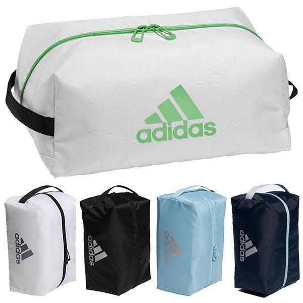 アディダス ゴルフ シューズバッグ メンズ レディース シューズバック バッグ 鞄 通気性 メッシュ adidas golf 黒 ブラック 白 ホワイト 紺 ネイビー 23184
