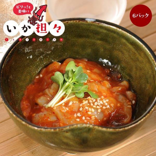 いか担々 6パック 四川風辛口味噌の新感覚いか生珍味|takewa