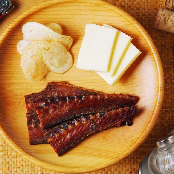 鯖ジャーキー  −八戸産の鯖(さば)を使用した旨みたっぷりのソフトジャーキーです− takewa 02