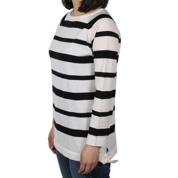 【送料無料!】モンクレール 90849 85 ホワイト サイズ XS レディース セーター 【MONCLER WH】 2018春夏