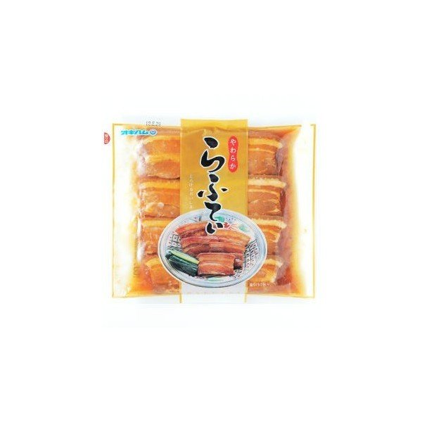 ラフテー やわらからふてぃ 豚角煮 270g ×6袋セット 送料無料 宅急便
