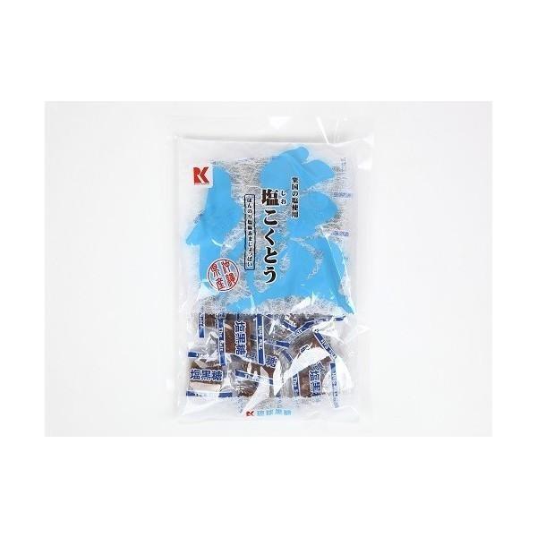 黒糖 粟国の塩こくとう 130g×10 パックセット  送料無料