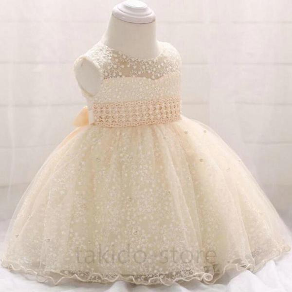 76ac10240b9e7 ベビー ドレス チュールスカートドレス 子供ドレス 70 80 90 ベビーカレン パーティー 結婚式 フォーマル ...