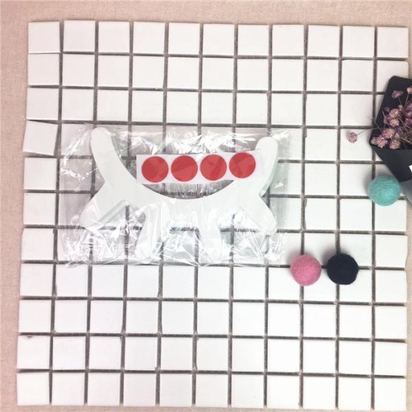 薄いタイプ新登場!まつげ柄ウッドオブジェ 2個set ウォールステッカー 壁飾り ウッドインテリア 北欧雑貨 モノトーン ベビーキッズルーム パーティー 誕生日会|takishohin|11