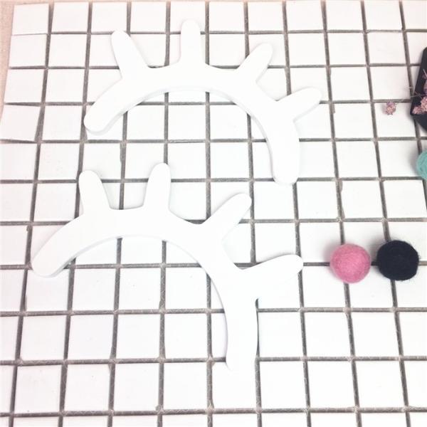 薄いタイプ新登場!まつげ柄ウッドオブジェ 2個set ウォールステッカー 壁飾り ウッドインテリア 北欧雑貨 モノトーン ベビーキッズルーム パーティー 誕生日会|takishohin|06