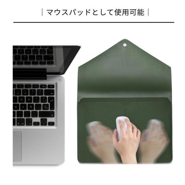 Apple Macbook Air 13/Pro 13/Pro retina 13インチロテクト保護ケースポーチ/収納カバーインナーポーチ/ソフトクッションノートパソコンバッグ【ネコポス不可】|takishohin|06