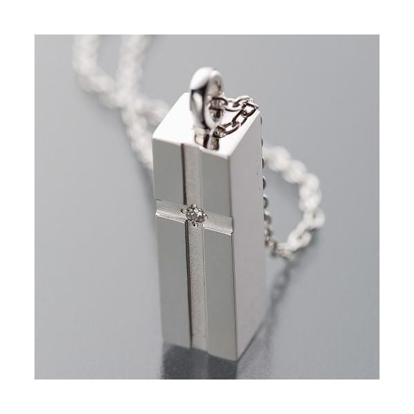 遺骨ペンダント(Soul Jewelry) プチピュアクロス シルバー925・ダイヤモンド|takita