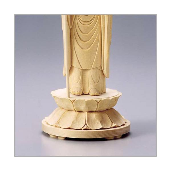 地蔵菩薩 白木製 6寸|takita|04