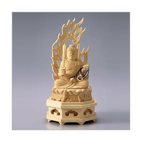 不動明王(酉年生まれ) 白木製 2.5寸|takita|02