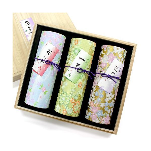 進物用線香(贈答用・ギフト線香) 花くらべ3種セット「桜・紅梅・竹炭」(進物線香 ギフト用線香 贈答用お線香)|takita
