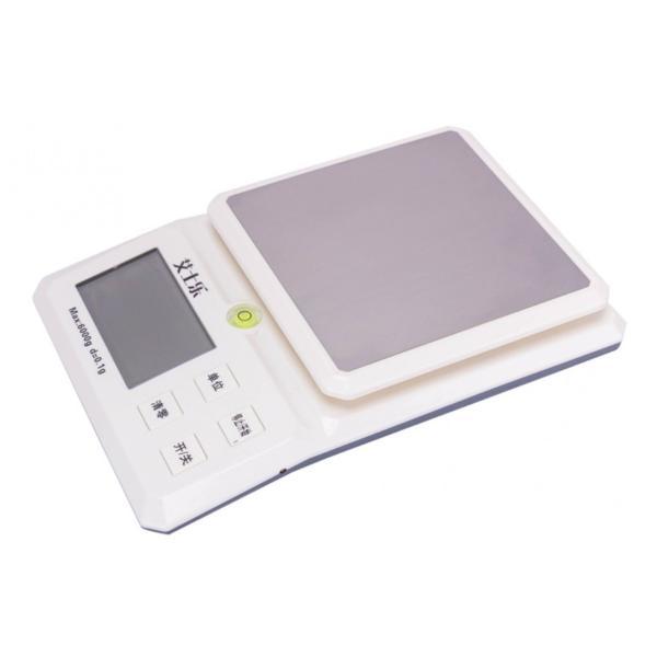 パーソナル電子天びん・デジタルはかり・厨房デジタルはかり ・LED大型液晶表示・ステンレス皿・電子秤・天秤・電子計量器具 (0.1g-6kg)/(1g--15kg)