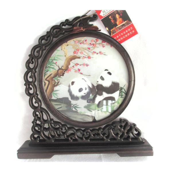 両面刺繍 高級刺繍 工芸品 置物 ギフト 中国のお土産 takouya