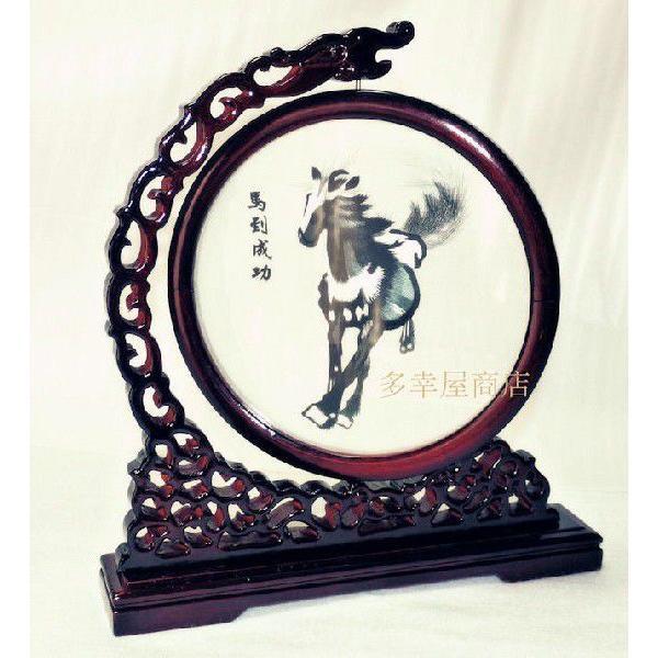 両面刺繍 高級刺繍 工芸品 置物 ギフト 中国のお土産 takouya 02