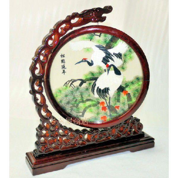 両面刺繍 高級刺繍 工芸品 置物 ギフト 中国のお土産 takouya 03