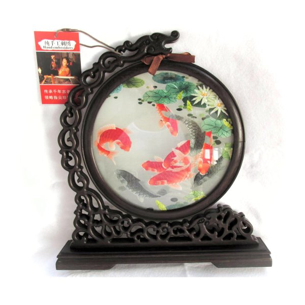 両面刺繍 高級刺繍 工芸品 置物 ギフト 中国のお土産 takouya 05