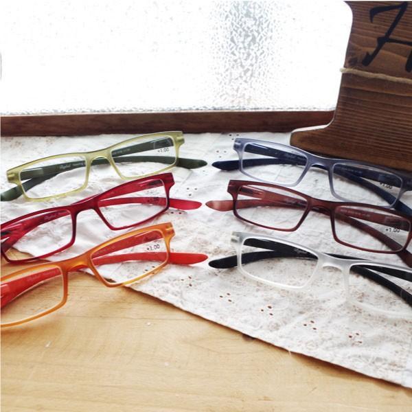 ビグラッドグラッシーズ BGE1016 老眼鏡 ケース付き 眼鏡 度数+1.0〜+2.5 首に掛けられる スクエアタイプ シニアグラス 男性・女性 おしゃれ
