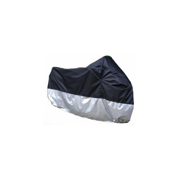 ビックバイク/ビックスクーター 防水/防塵/防太陽光 シルバー保護カバー 3XL P-51|takuta2