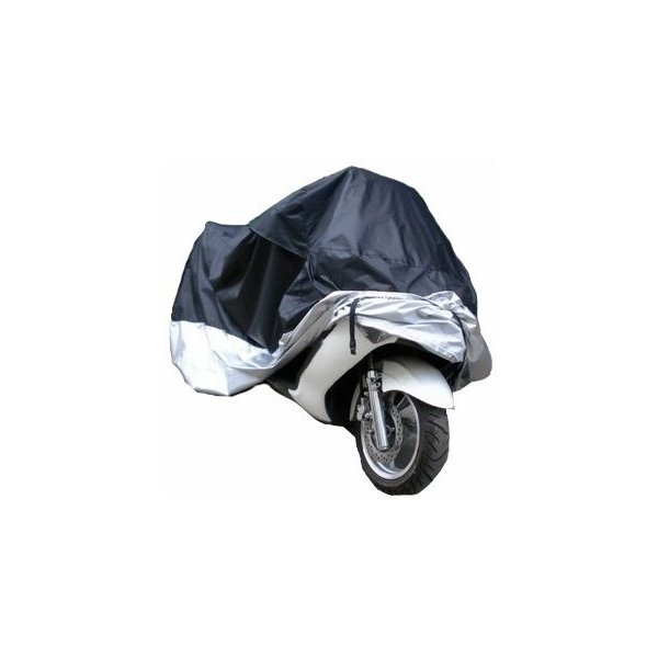 ビックバイク/ビックスクーター 防水/防塵/防太陽光 シルバー保護カバー 3XL P-51|takuta2|02