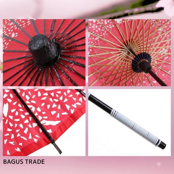 踊り傘 和傘 日傘 コスプレアイテム 直径84cm 長さ80cm 桜|takuta2|03