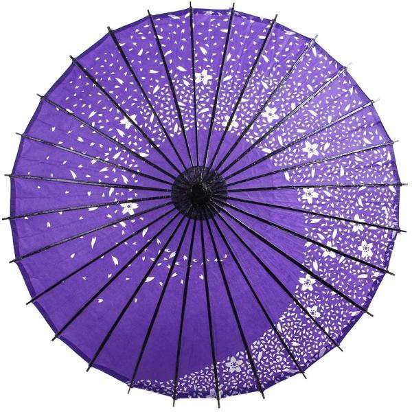踊り傘 和傘 日傘 コスプレアイテム 直径84cm 長さ80cm 桜|takuta2|06
